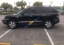Cần bán gấp Hyundai Santa Fe AT  Gold đời 2008, màu đen