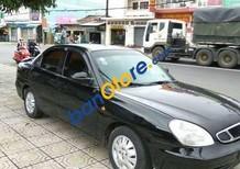Bán xe cũ Daewoo Nubira đời 2002, màu đen xe gia đình
