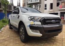 Cần bán xe Ford Ranger Wildtrak 3.2L 4x4 AT đời 2015, màu trắng, nhập khẩu như mới, giá chỉ 775 triệu