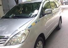 Gia đình cần bán chiếc xe cũ Toyota Innova 2.0 G màu bạc, đời 2010, xe tên tư nhân chính chủ biển Hà Nội