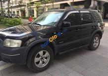 Bán xe Ford Escape 2.3 đăng ký 2005, màu đen, đăng kiểm khám khí còn rất dài hết 2018