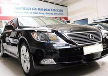 Cần bán Lexus LS 460L sản xuất năm 2007, màu đen, nhập khẩu