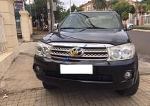 Cần bán xe Toyota Fortuner G 2.7 sản xuất năm 2009, màu đen xe gia đình