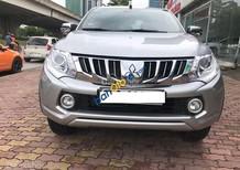 Cần bán Mitsubishi Triton sản xuất năm 2015, màu bạc, nhập khẩu