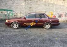 Cần bán xe Toyota Camry đời 1987, màu đỏ, gầm máy êm ru, máy lạnh cực lạnh