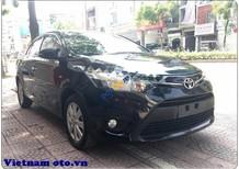 Bán Toyota Vios đời 2014, màu đen số sàn, giá tốt
