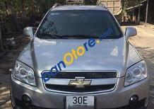 Bán gấp Chevrolet Captiva đời 2008, màu bạc, giá 300tr