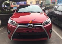Bán ô tô Toyota Yaris G đời 2017, màu đỏ, xe nhập
