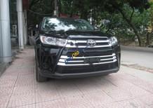 Bán Toyota Highlander LE 2.7AT đời 2016, màu đen, nhập khẩu