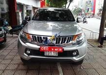 Cần bán lại xe Mitsubishi Triton 4x2 MT sản xuất năm 2016, màu bạc