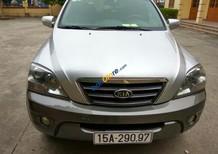 Cần bán Kia Sorento sản xuất 2006, màu xám, nhập khẩu nguyên chiếc số tự động