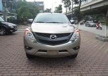 Bán Mazda BT50 2.2MT 2014, 2 cầu, 515triệu, nhập khẩu, màu vàng
