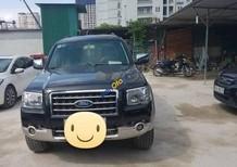 Cần bán xe Ford Everest 2.5L 4x2 MT đời 2007, màu đen số sàn