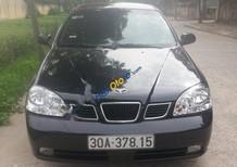 Cần bán Daewoo Lacetti EX năm sản xuất 2005, màu đen