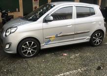 Cần bán lại xe Kia Morning đời 2010, màu bạc ít sử dụng