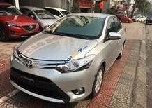 Cần bán Toyota Vios 1.5 AT sản xuất 2015, màu bạc