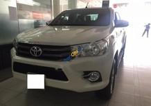 Bán ô tô Toyota Hilux 2.4E năm 2016, màu trắng, xe nhập