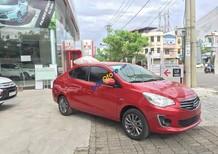 Bán Mitsubishi Attrage sản xuất 2017, màu đỏ, xe nhập, 498 triệu