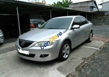 Cần bán gấp Mazda 6 MT sản xuất năm 2003, màu bạc