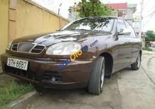 Bán ô tô Daewoo Lanos MT năm 2001, màu nâu