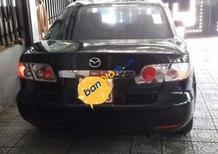 Bán xe Mazda 6 MT năm 2005, màu đen, giá 315tr