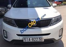 Bán Kia Sorento 2.4 AT 2015, màu trắng, xe chạy 3 vạn còn cực mới