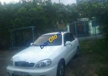 Bán xe cũ Daewoo Lanos MT đời 2002, màu trắng giá cạnh tranh