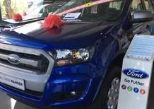 Bán Ford Ranger 2.2L AT 4x2 Wildtrak đời 2017, màu xanh lam, xe nhập, giá chỉ 760 triệu