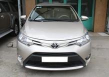 Bán Toyota Vios 2016, màu kem (be), số sàn