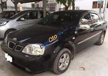 Cần bán lại xe Daewoo Lacetti sản xuất 2007, màu đen