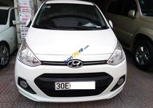 Cần bán gấp Hyundai Grand i10 1.2 đời 2015, màu trắng, nhập khẩu