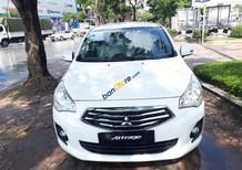 Bán xe Mitsubishi Attrage CVT đời 2017, màu trắng, nhập khẩu