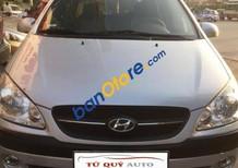 Bán Hyundai i10 1.1 MT đời 2010, màu bạc, nhập khẩu Hàn Quốc số sàn, 318tr