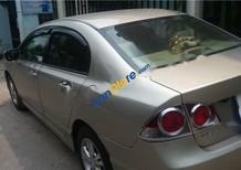 Bán Honda Civic 1.8 MT 2008, màu vàng số sàn, 400tr