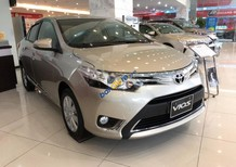 Bán Toyota Vios 1.5G CVT sản xuất năm 2017, màu vàng, giá tốt