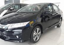 Cần bán xe Honda City 1.5AT đời 2017, màu đen