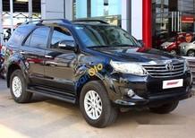 Bán Toyota Fortuner G 2.5MT 2012, màu đen, lắp ráp trong nước, đăng ký tên công ty lần đầu 04/2012