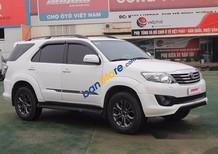 Bán xe Toyota Fortuner Sporttivo 2.7AT sản xuất 2014, màu trắng