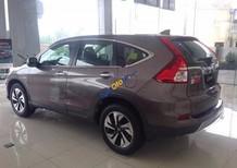 Cần bán xe Honda CR V 2.4TG đời 2017, màu nâu