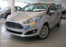 Bán xe Ford Fiesta Titanium đời 2017, màu bạc