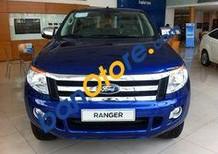 Bán Ford Ranger 3.2L AT 4x4 Wildtrak đời 2017, màu xanh lam, xe nhập, giá chỉ 875 triệu
