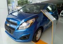 Bán xe Chevrolet Spark 1.2LS MT năm sản xuất 2017, màu xanh lam