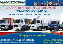 Xe tải Thaco HD650 - 6.4 tấn, Hyundai chính hãng, giá tốt nhất, chất lượng tốt nhất