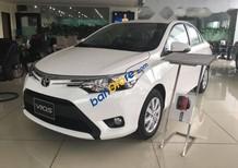 Bán ô tô Toyota Vios đời 2017, màu trắng giá cạnh tranh