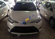 Bán xe Toyota Vios E sản xuất 2017, màu trắng