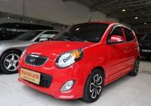 Bán xe cũ Kia Morning SLX đời 2010, màu đỏ, xe nhập số tự động, 315 triệu