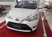 Bán Toyota Vios 1.5E sản xuất năm 2017, màu trắng, giá chỉ 538 triệu