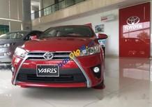 Bán ô tô Toyota Yaris đời 2017, hỗ trợ vay lên đến 90% giá trị xe và lãi suất cực kì ưu đãi
