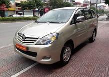 Bán Toyota Innova 2.0G MT đời 2008, màu vàng
