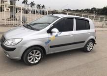 Bán ô tô Hyundai Getz sản xuất 2010, màu bạc, nhập khẩu